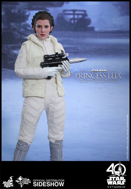 hot toys princess leia sixth scale figure empire strikes back