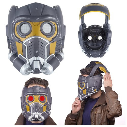 hasbro marvel legends guardians of the galaxy star-lord electronic helmet