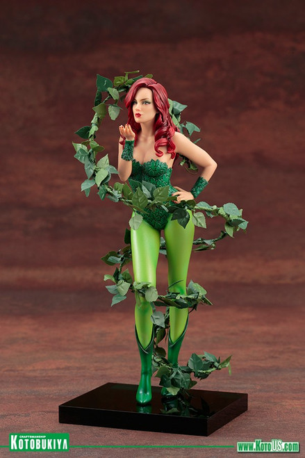 kotobukiya poison ivy mad lovers artfx plus statue
