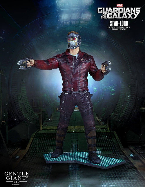 gentle giant star lord collectors gallery statue