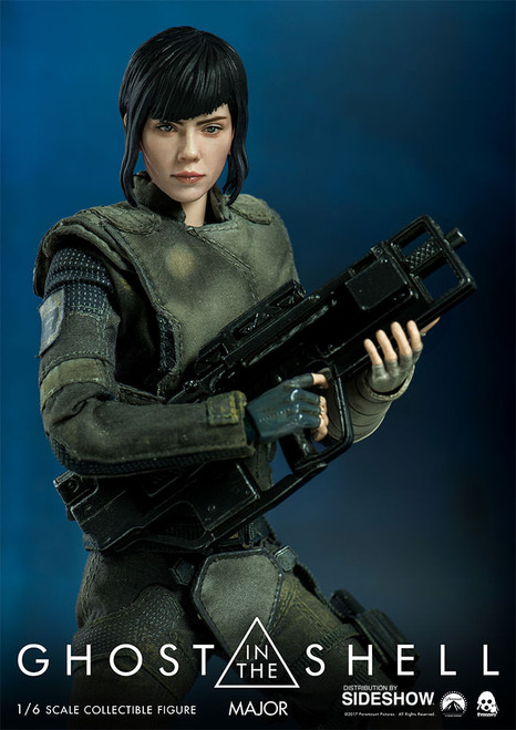 threezero ghost in the shell major sixth scale figure