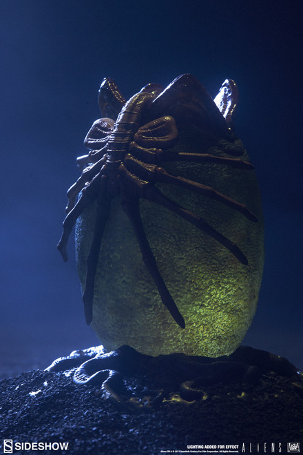 sideshow collectibles alien egg statue
