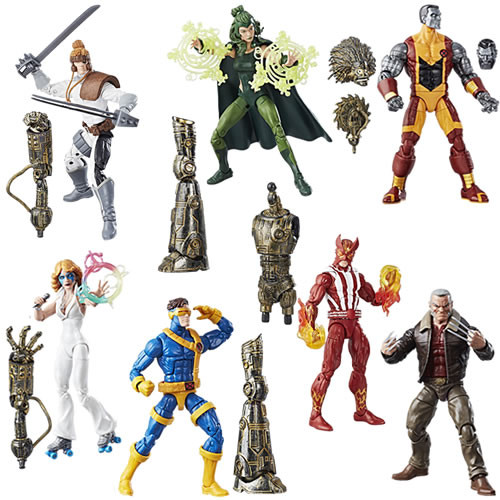 hasbro x-men legends action figures
