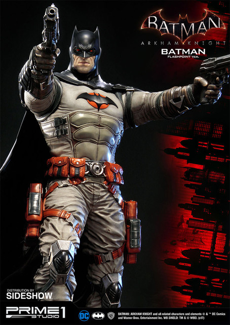 prime 1 studio batman arkham knight flashpoint batman statue