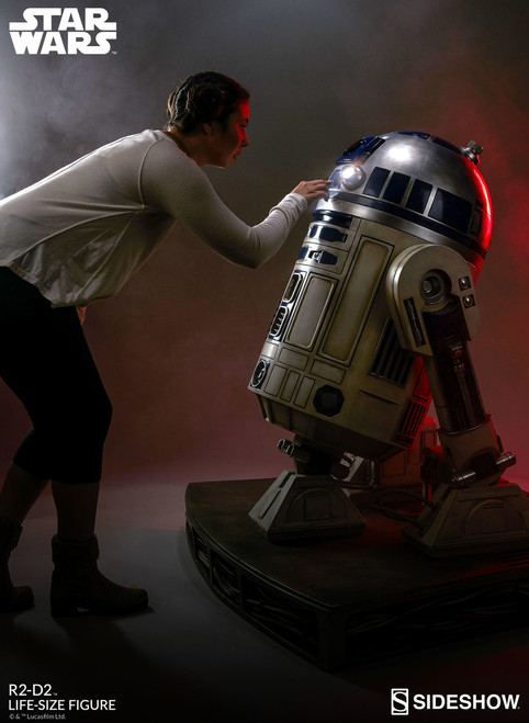 sideshow collectibles r2-d2 life size figure
