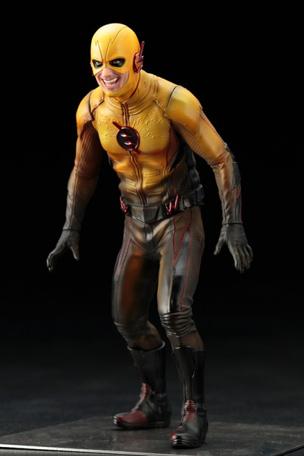 reverse flash artfx+ statue