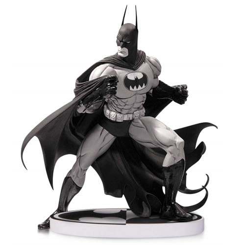 batman black and white statue by tim sale
