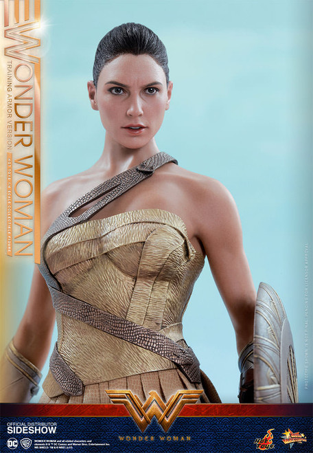 hot toys wonder woman training armor version
