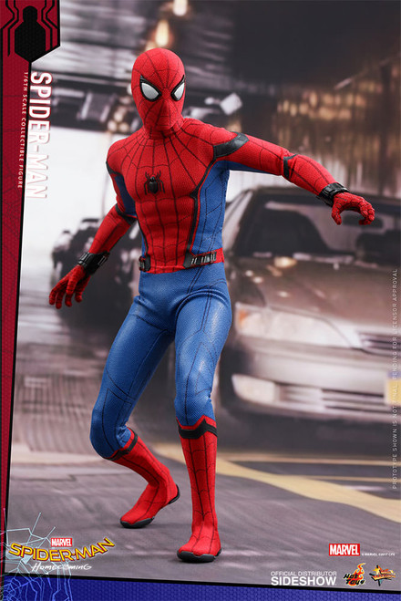 hot toys spider-man homecoming sixth scale figure