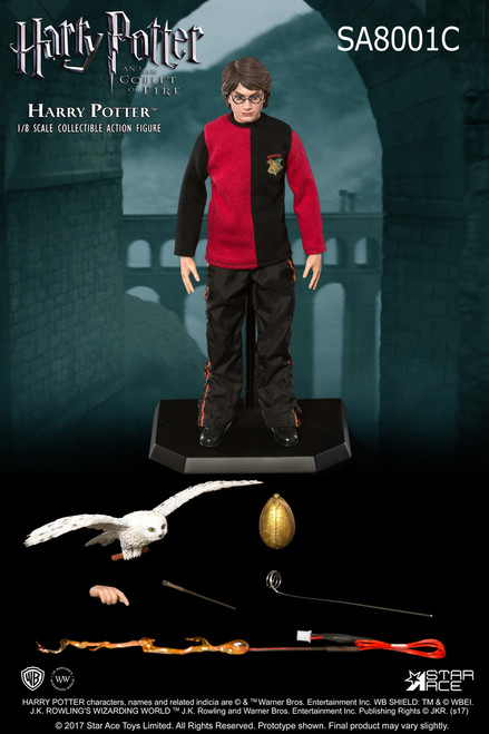 tri wizard tournament harry potter eight scale figure c