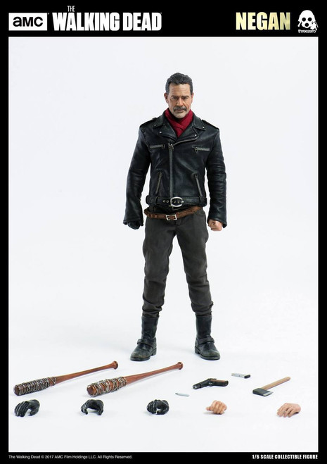 ThreeA The Walking Dead Negan 1:6 Scale Figure