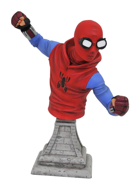 Marvel Spider-Man Homecoming Homemade Suit Bust