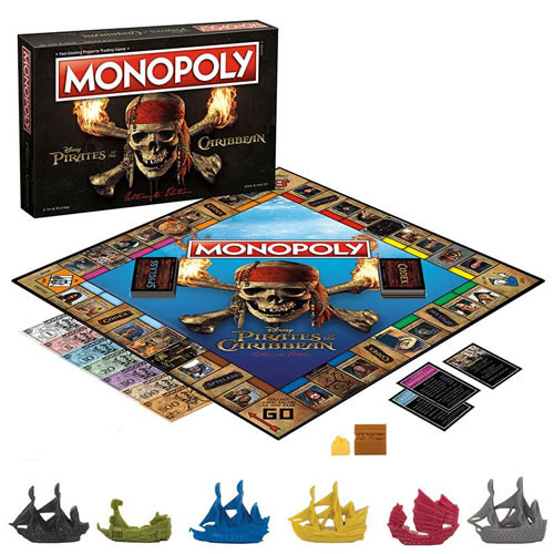 monopoly pirates of the caribbean ultimate edition
