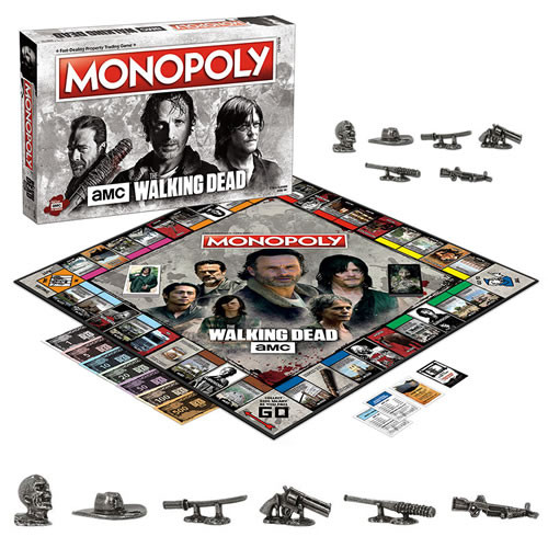 monopoly amc the walking dead board game