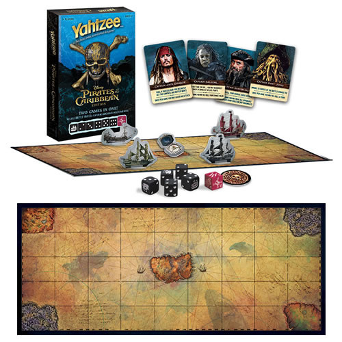 yahtzee pirates of the caribbean