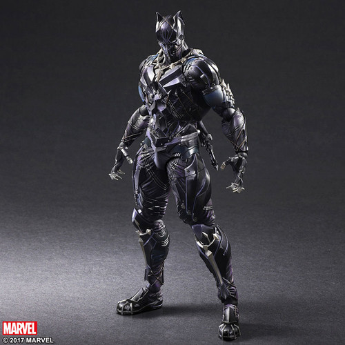 Marvel Universe Variant Play Arts Kai Black Panther Figure