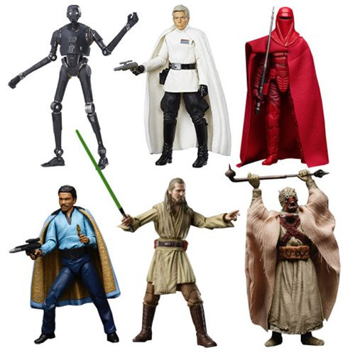 Star Wars: Black Series 6 Inch Action Figure Set - Wave 11