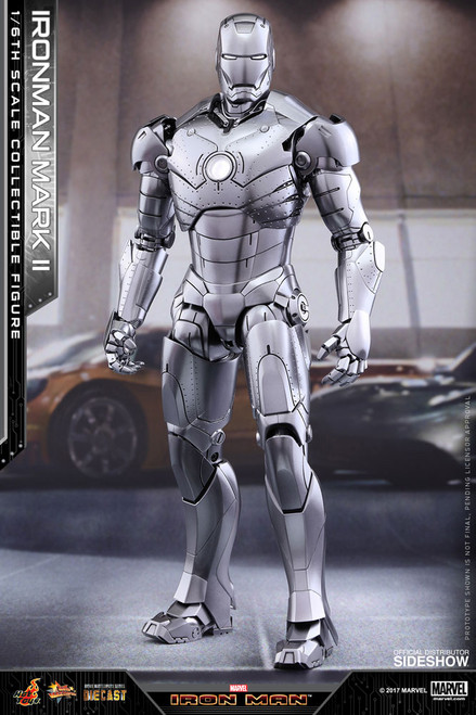 Iron Man Mark II Diecast 1:6 Scale Figure