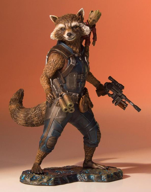Guardians of the Galaxy Vol. 2 Rocket and Groot Collectors Gallery Statue
