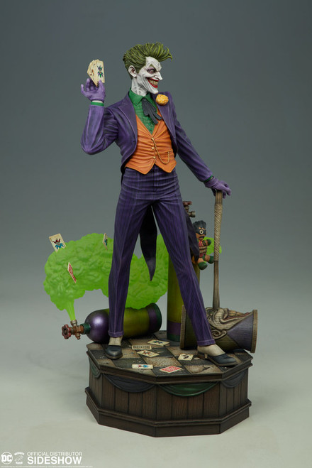 The Joker Super Powers Collection Maquette