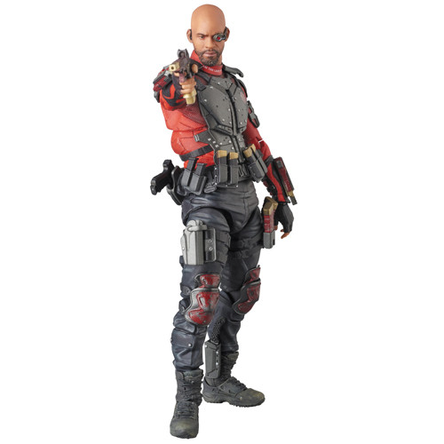 medicom deadshot previews exclusive mafex figure