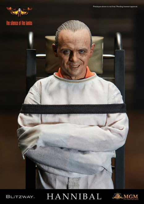 The Silence of the Lambs Hannibal Lecter 1:6 Scale Figure - Straitjacket Version
