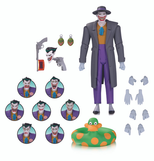Batman The Animated Series: The Joker Expressions Action Figure Pack