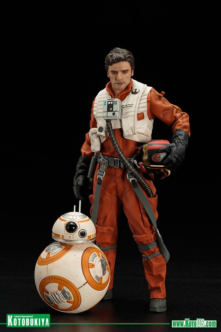 Star Wars Poe Dameron & BB-8 Two Pack ARTFX+
