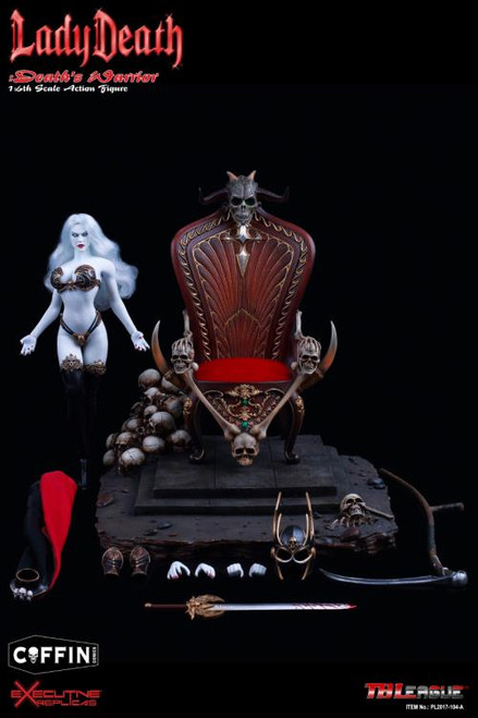Lady Death: Death's Warrior 1:6 Scale Figure