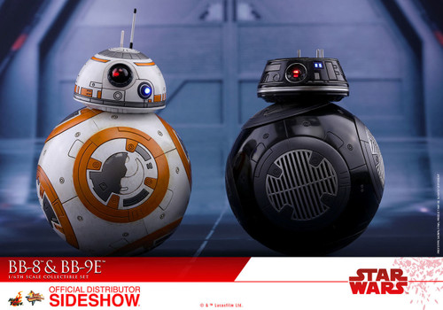 BB-8 and BB-9E 1:6 Scale Figure Set