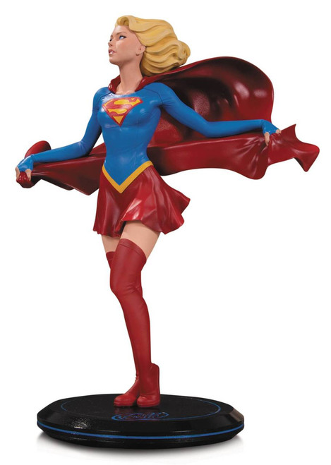 DC Cover Girls Supergirl Statue by Joelle Jones
