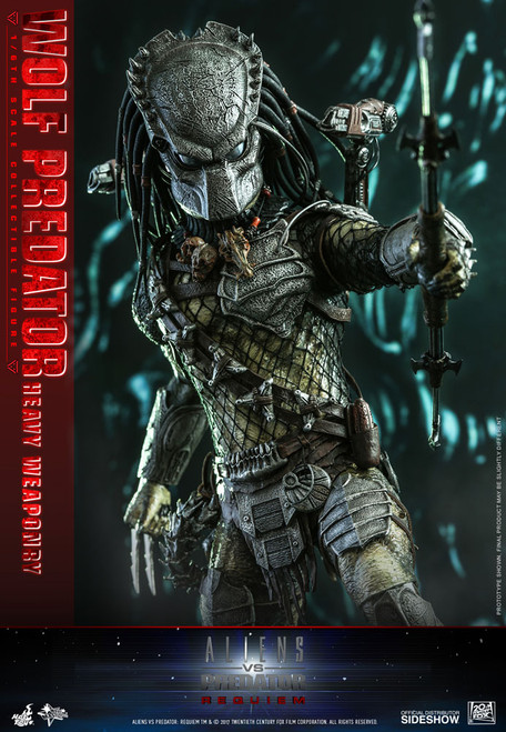 hot toys wolf predator heavy weaponry sixth scale figure 001
