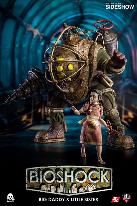 Big Daddy and Little Sister 1:6 Scale Figure