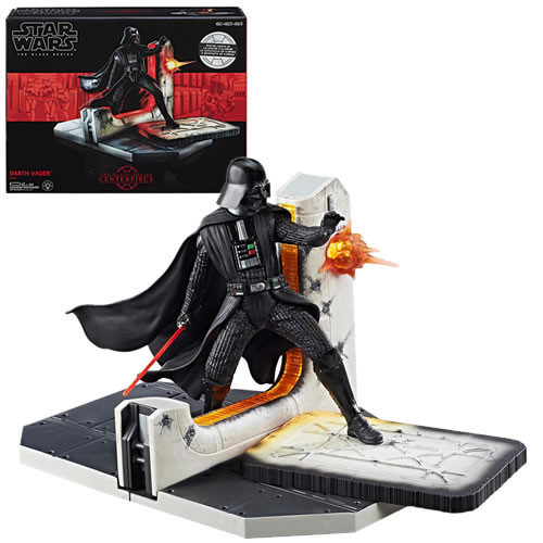 star wars black darth vader centerpiece statue
