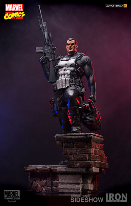 iron studios punisher legacy replica statue 001