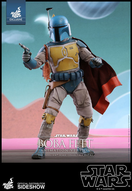 hot toys boba fett animation version sixth scale figure 001