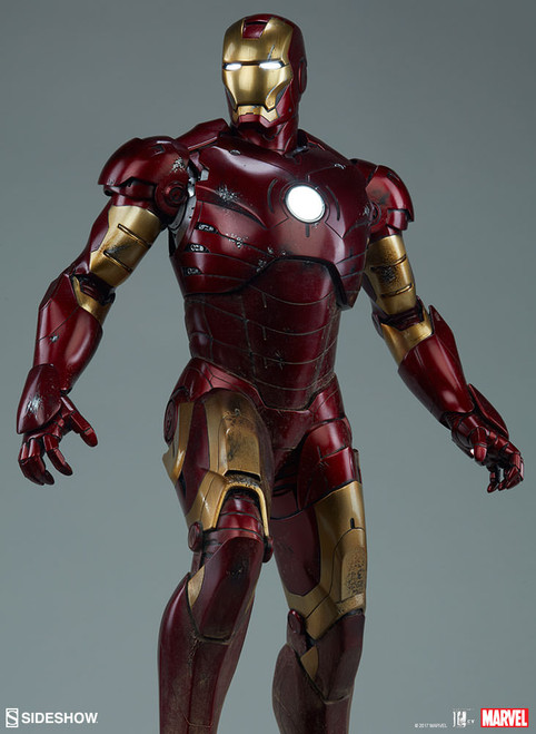 iron man mark 3 maquette 001