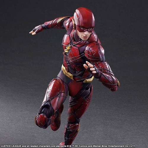 play arts kai justice league flash action figure 001
