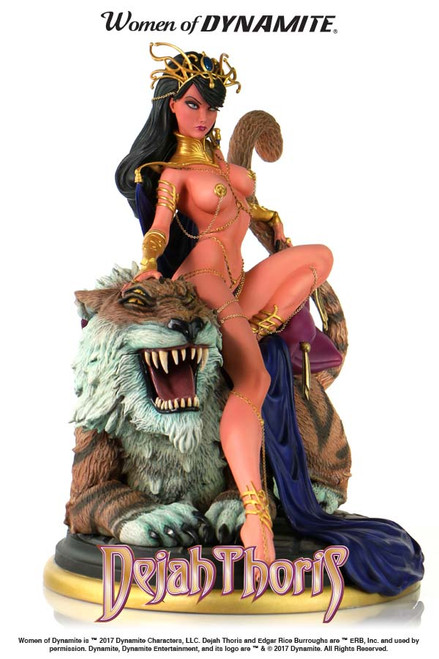 women of dynamite dejah thoris statue j scott campbell