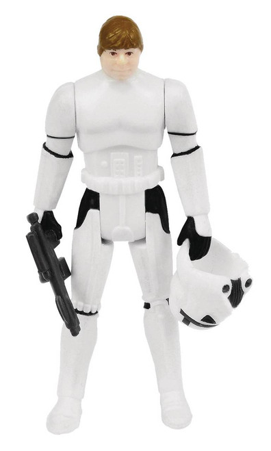 Star Wars Kenner-Inspired Power Force Stormtrooper Luke Action Figure
