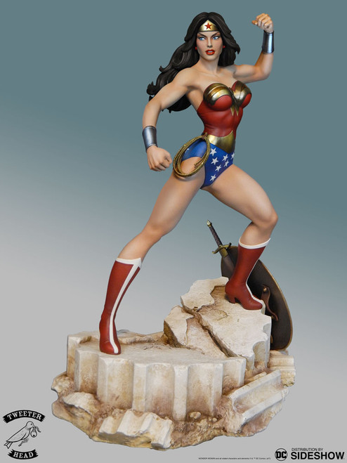 Super Powers Wonder Woman Maquette
