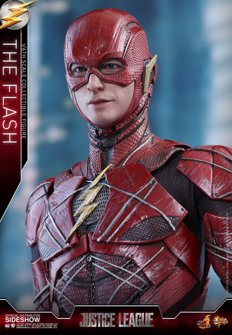hot toys justice league flash sixth scale figure