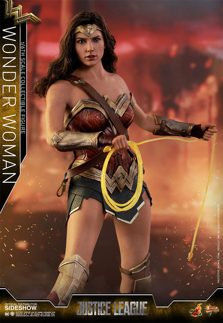 hot toys justice league wonder woman figure
