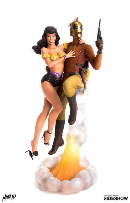 mondo rocketeer betty statue