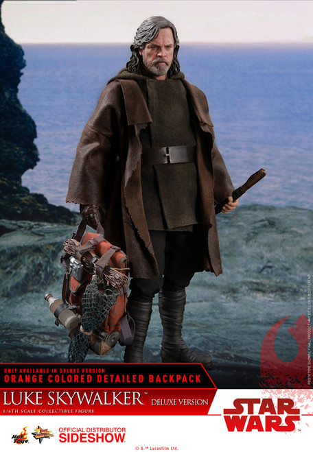 hot toys luke skywalker deluxe 1/6 scale figure