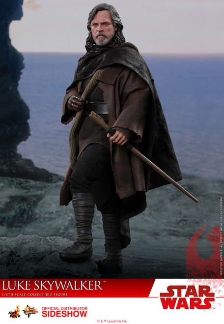 hot toys luke skywalker 1/6 scale figure the last jedi