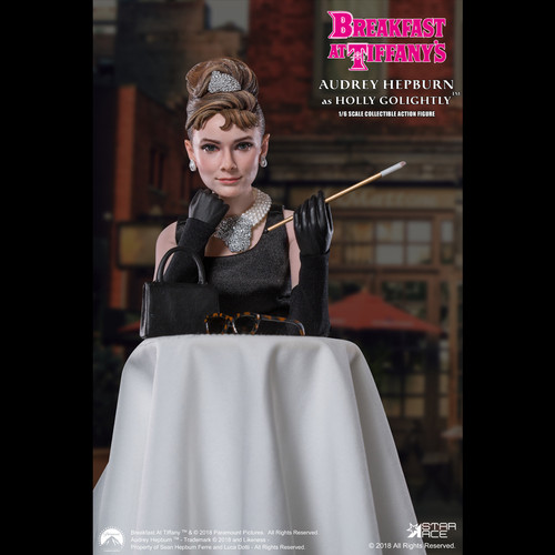 star ace breakfast at tiffany's holly golightly deluxe 1/6 scale figure