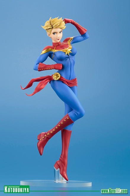 captain marvel bishoujo statue