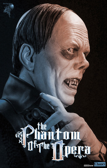 lon cheney phantom of the opera life size bust