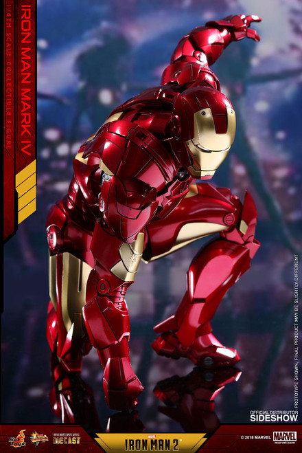 hot toys iron man mark iv diecast 1/6 scale figure 001